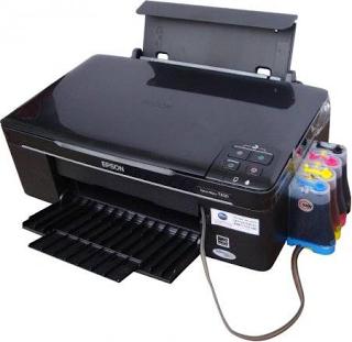 Keuntungan dan Kelemahan Printer Dengan Tinta infus_!